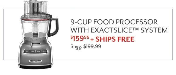 KitchenAid 9-Cup Food Processor - $159.96