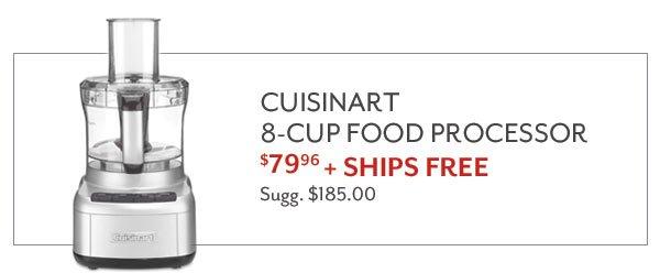 Cuisinart 8-Cup Food Processor - $79.96