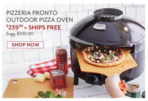 Pizzeria Pronto Outdoor Pizza Oven - $239.96