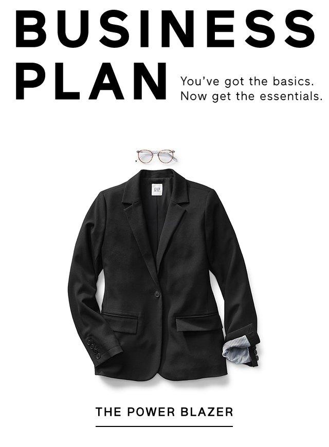 BUSINESS PLAN | THE POWER BLAZER