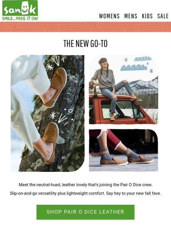 Meet the all-new Pair O Dice Leather