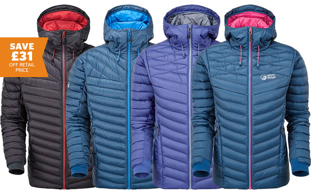 North Ridge Men's & Women's Hybrid Spirit Down Jacket