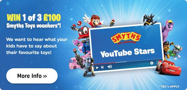 Smyths Toys YouTube Stars