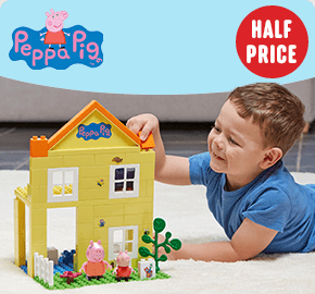 Peppa Pig Deluxe House Construction Set