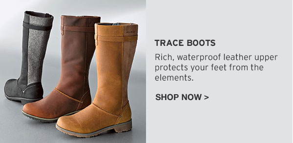 REEBOOT YOUR FALL LOOK | SHOP TRACE BOOTS
