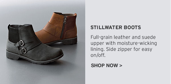 REEBOOT YOUR FALL LOOK | SHOP STILLWATER BOOTS