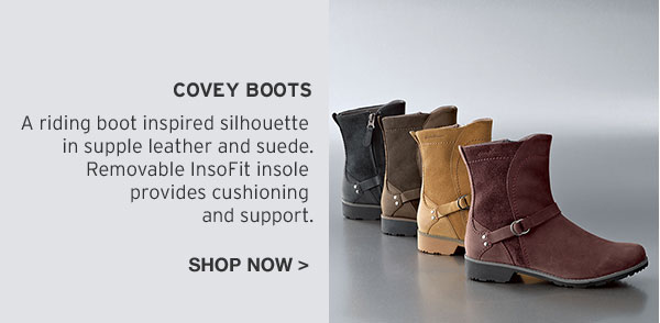 REEBOOT YOUR FALL LOOK | SHOP COVEY BOOTS