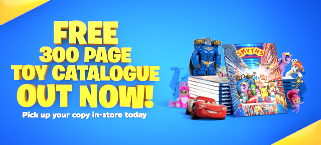 FREE 300-Page Toy Catalogue Out Now