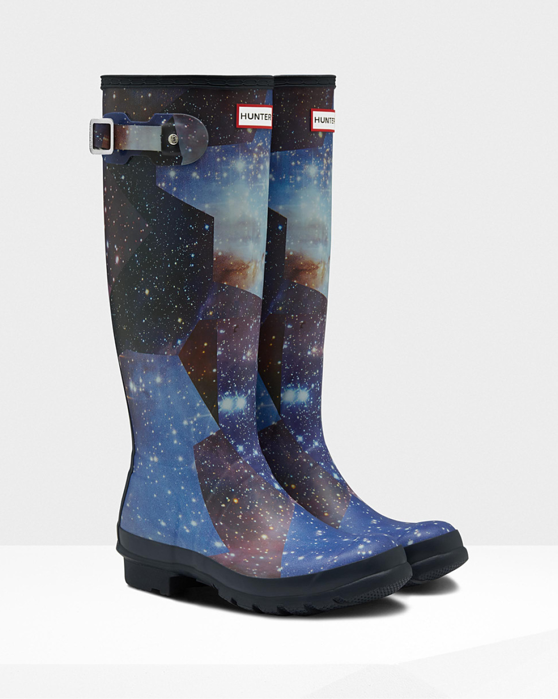 WOMEN'S ORIGINAL TALL SPACE CAMO RAIN BOOTS