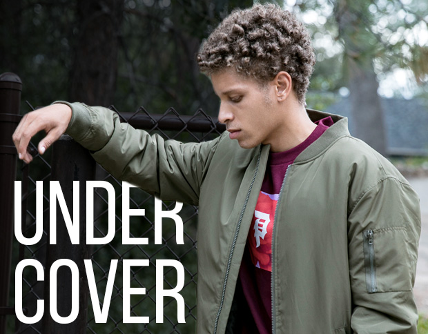 UNDER COVER - Layer Up with a Jacket