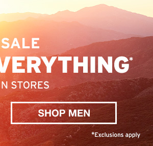 30% OFF EVERYTHING   SHOP MEN