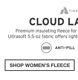 CLOUD LAYER PRO | SHOP WOMEN'S FLEECE