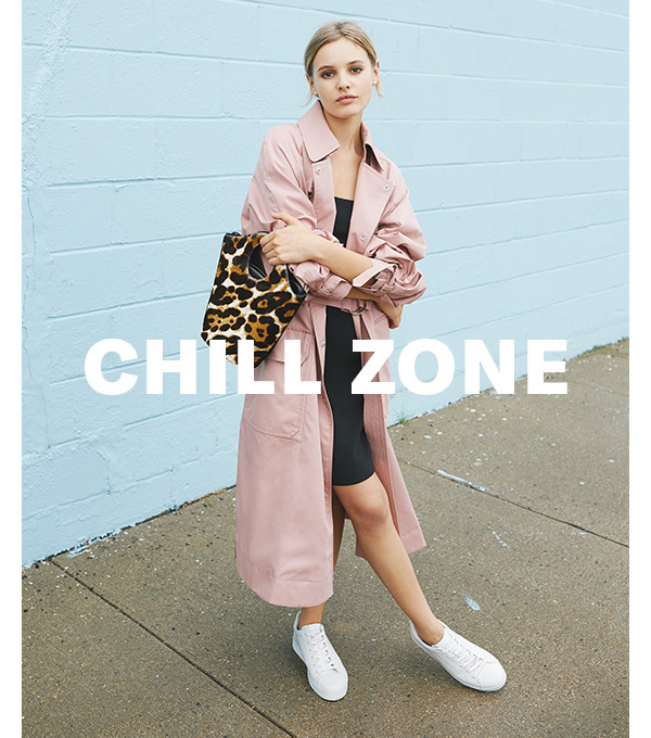 Chill Zone. Effortlessly put-together pieces, featuring Elizabeth and James. Shop now.