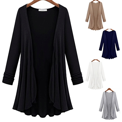 Classic Draped Cardigan in 5...