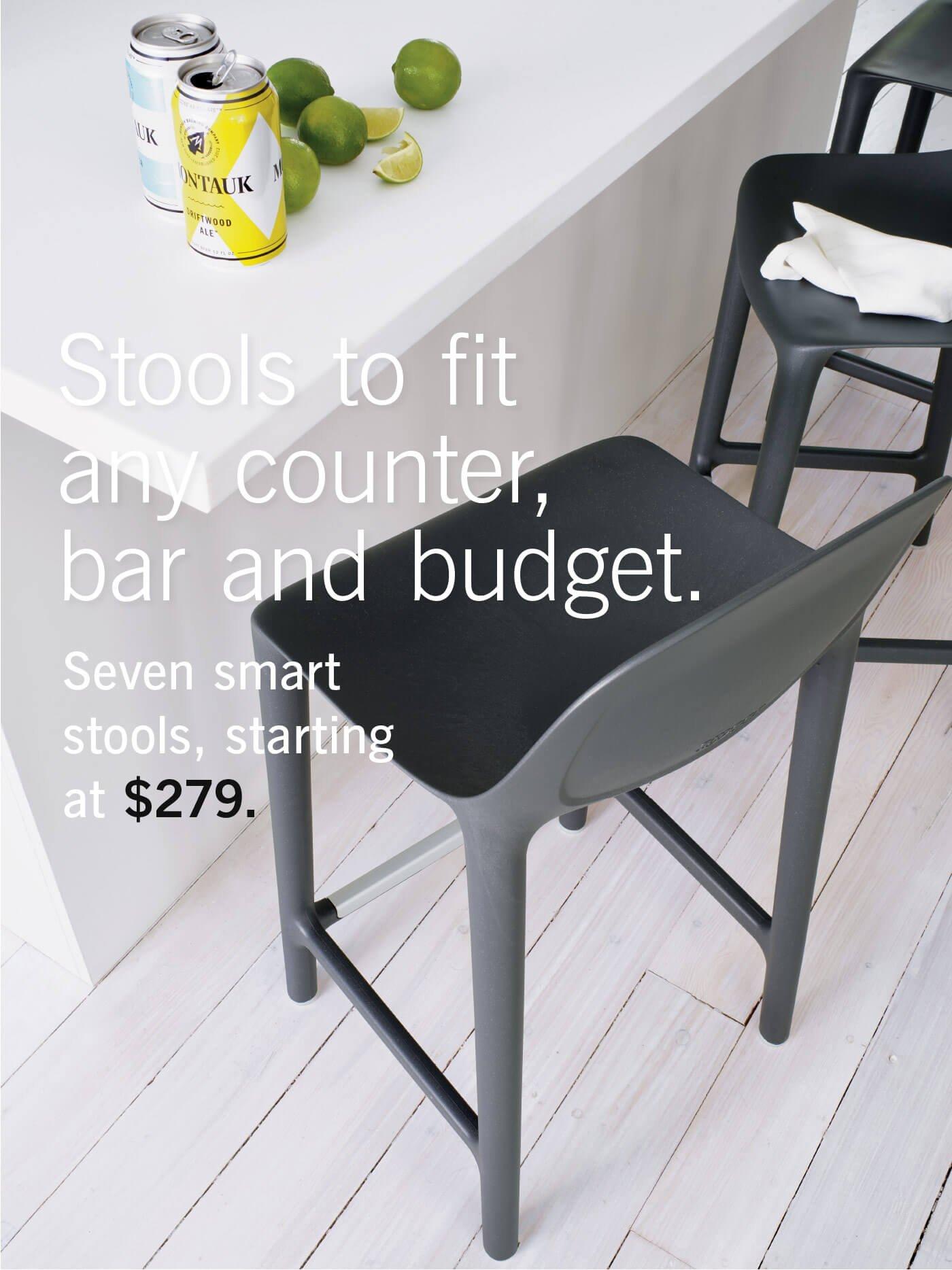 Broom Counter Stool