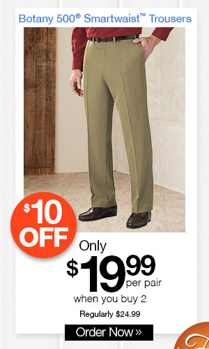 Botany 500 Smartwaist? Trousers