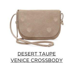 Desert Taupe Venice Crossbody