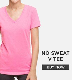 No Sweat V Tee