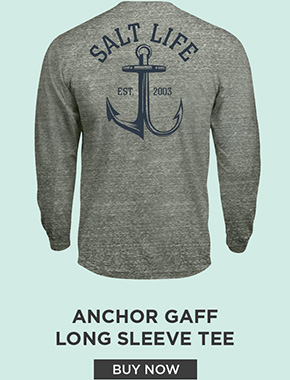 Anchor Gaff Tri-Blend Long Sleeve Tee