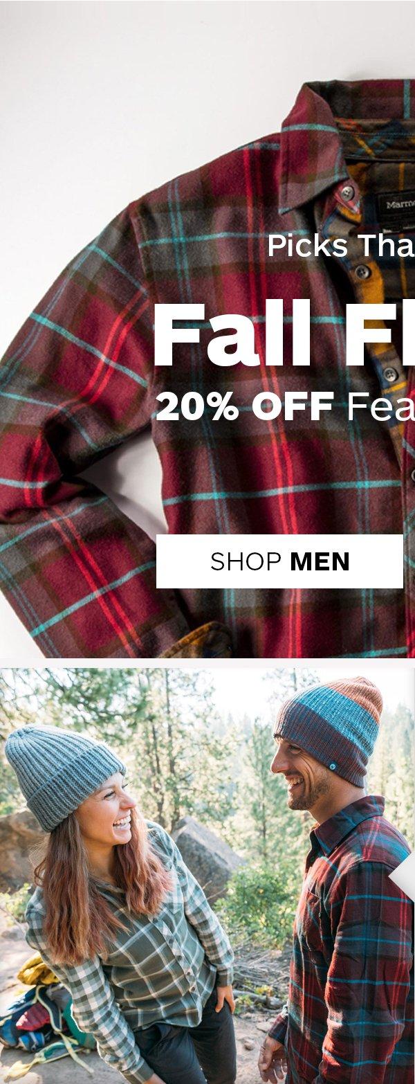 Fall Flannel 20% Off - Shop Men