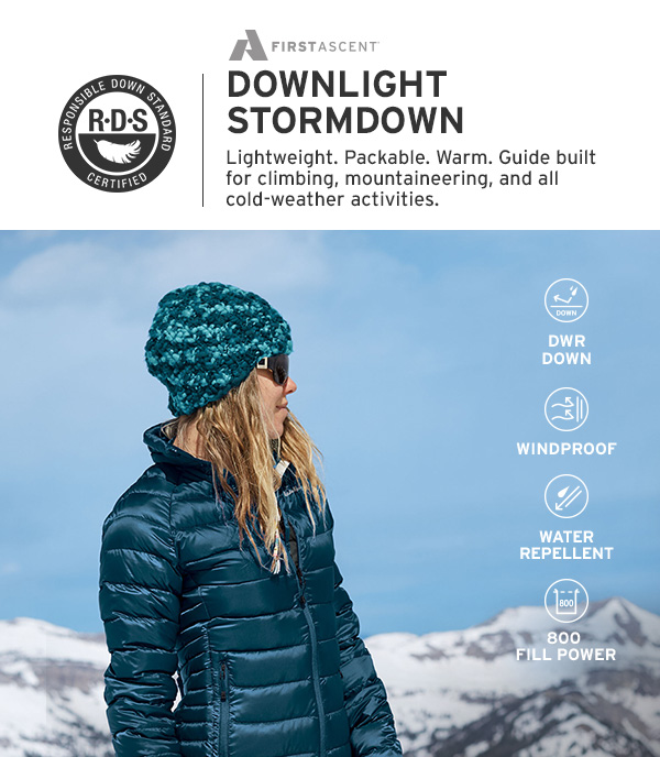 DOWNLIGHT STORMDOWN | SHOP WOMEN'S OUTERWEAR