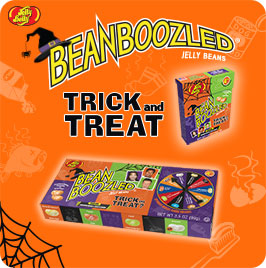 This Halloween, Get your Tricks and Treats from Jelly Belly Halloween BeanBoozled products