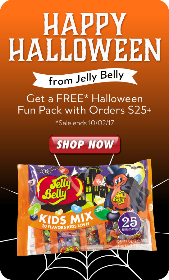 Jelly Belly Halloween Fun Pack product listing page