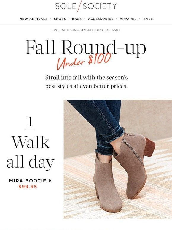 a28e318a65192 Sole Society: The Fall List: shop essentials under $100 | Milled