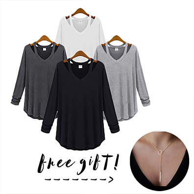 Cut Loose Shirt With Free...