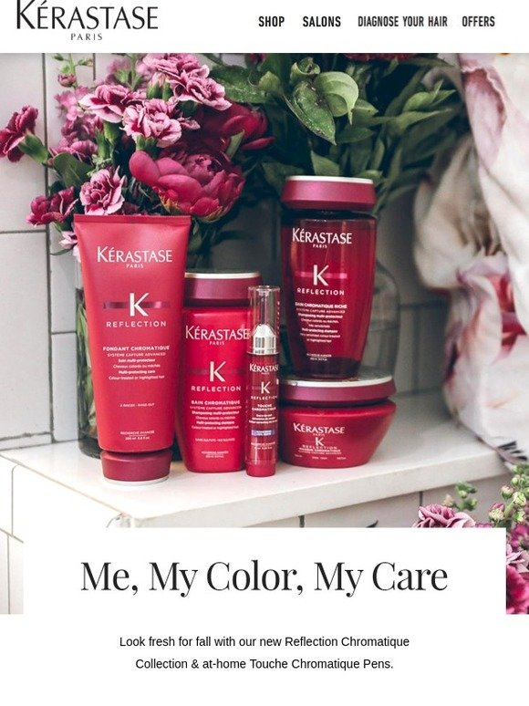 Kerastase: Tips for Preserving Your Hair Color This Fall | Milled