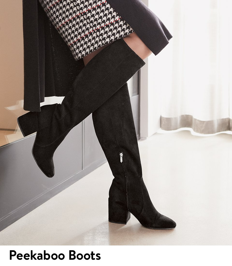 nordstrom how to wear knee high boots to work milled