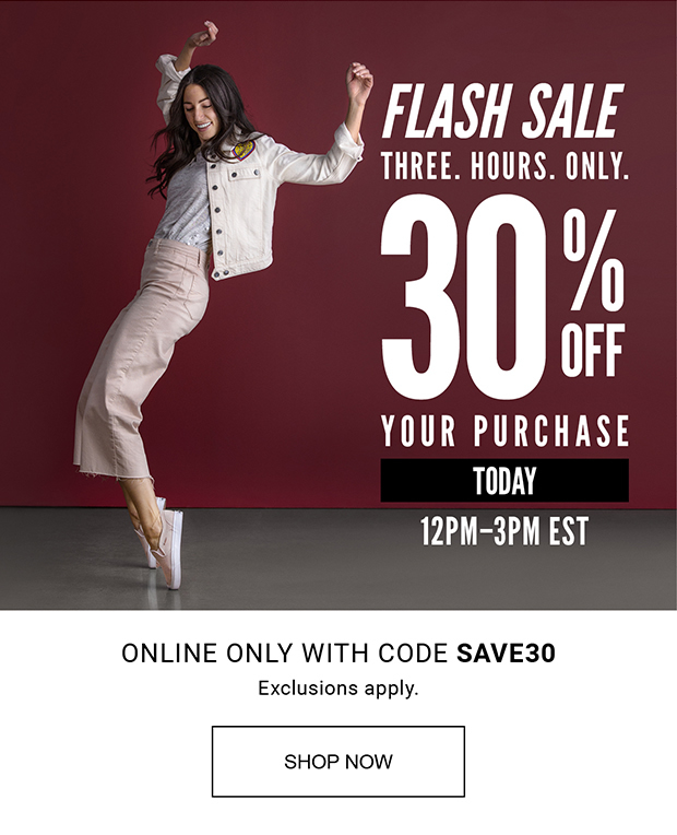 feb91a1a72a DSW  ⚡ FLASH SALE ⚡ 30% off your purchase.