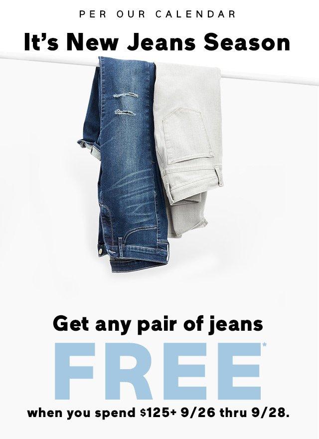 It's New Jeans Season