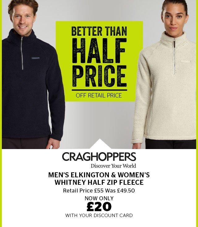Craghoppers Men's Elkington & Women's Witney