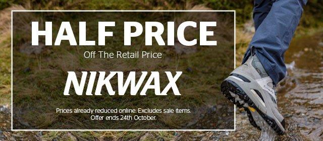 Half Price Nikwax