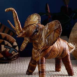Banana Fiber Elephant ›