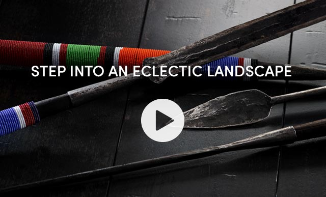 Step Into An Eclectic Landscape - Watch The Video ›