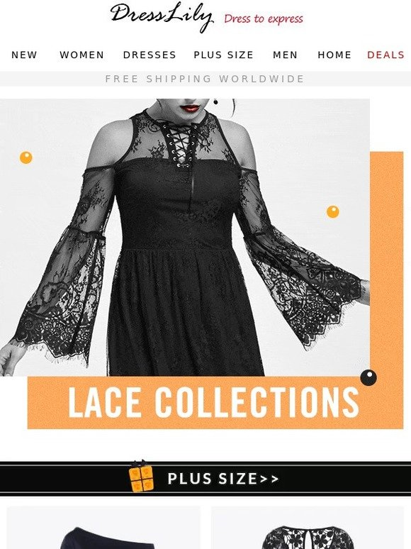 3b05e23d1ca DressLily.com  Lace Collection just arrived.Don t Miss It.