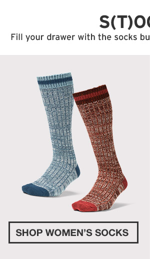 BUILT FOR COLD-WEATHER ADVENTURE | SHOP WOMEN'S SOCKS