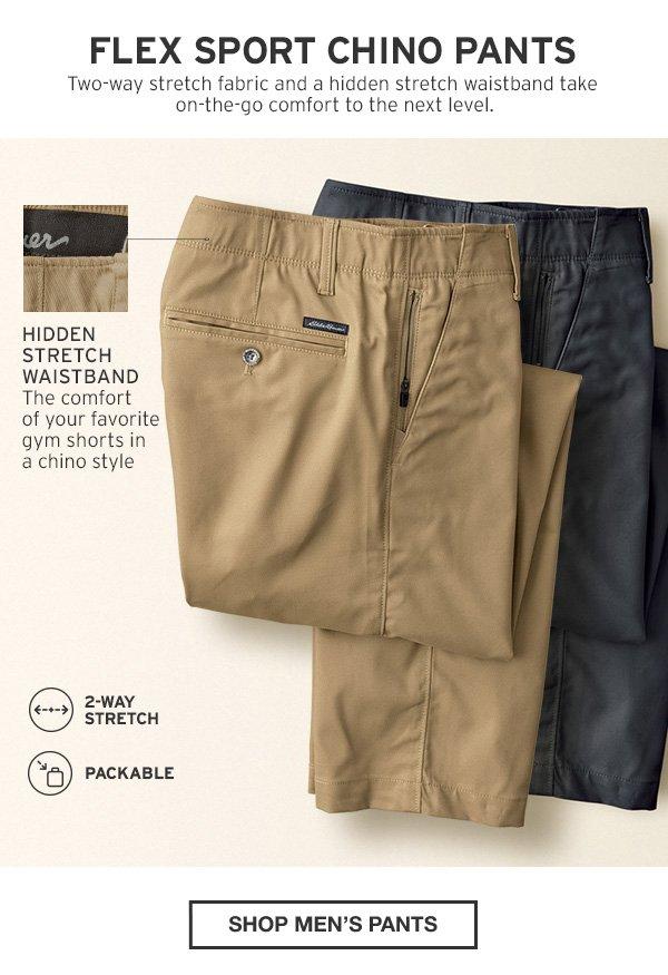 FLEX SPORT CHINO PANTS | SHOP MEN'S PANTS