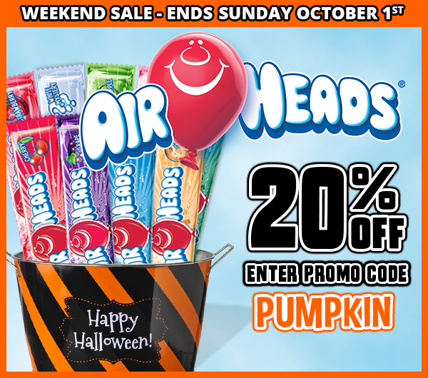 CandyWarehouse com: AirHeads Sale This Weekend | Milled