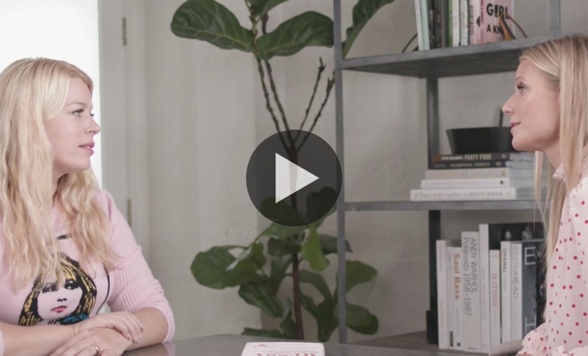 It's Messy: Gwyneth Interviews Amanda de Cadenet