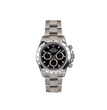 Rolex 40MM Stainless Steel Daytona Bob's Watches, $11,295