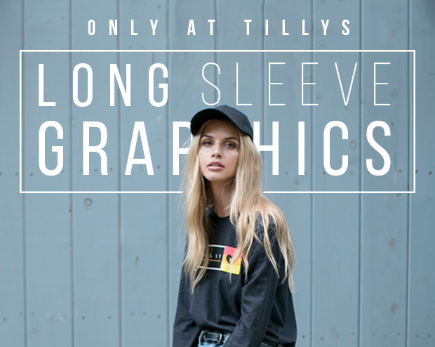 LONG SLEEVE GRAPHIC TEES - Only at Tillys