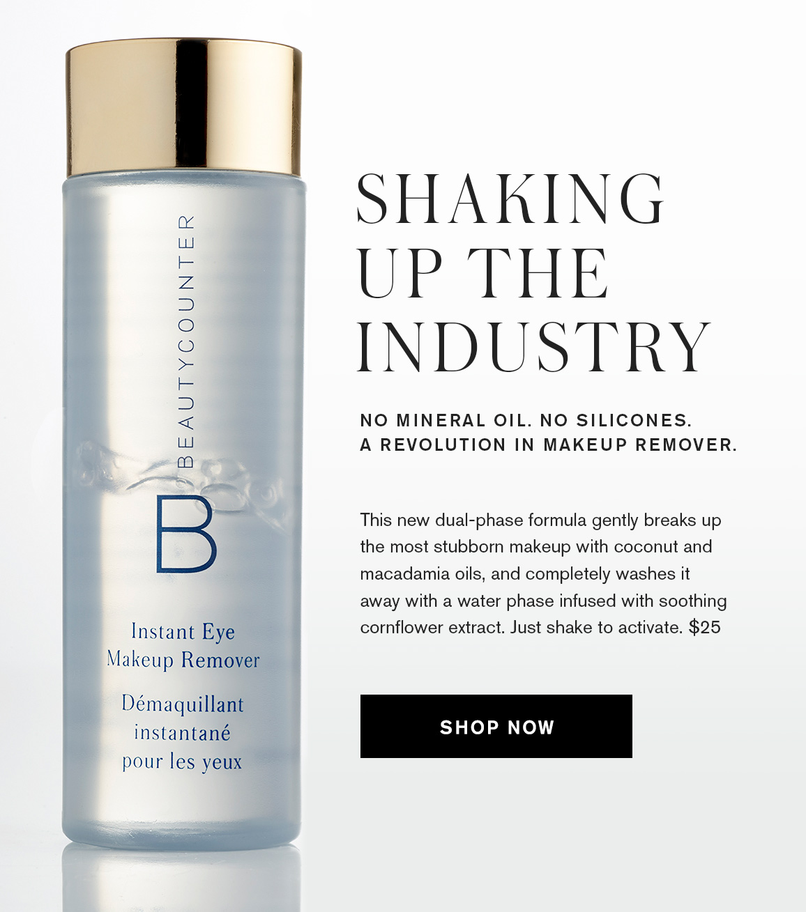 Beautycounter New Instant Eye Makeup Remover Just Rolled In Milled
