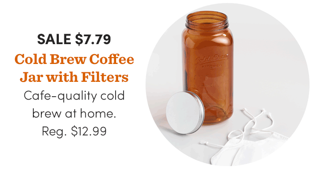 Cold Brew Coffee Jar With Filters ›