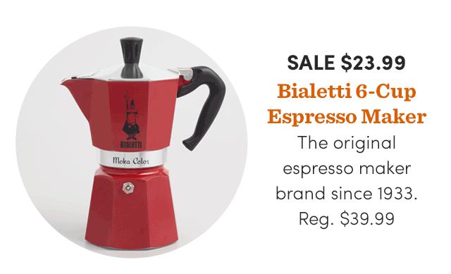 Bialetti 6-Cup Espresso Maker ›