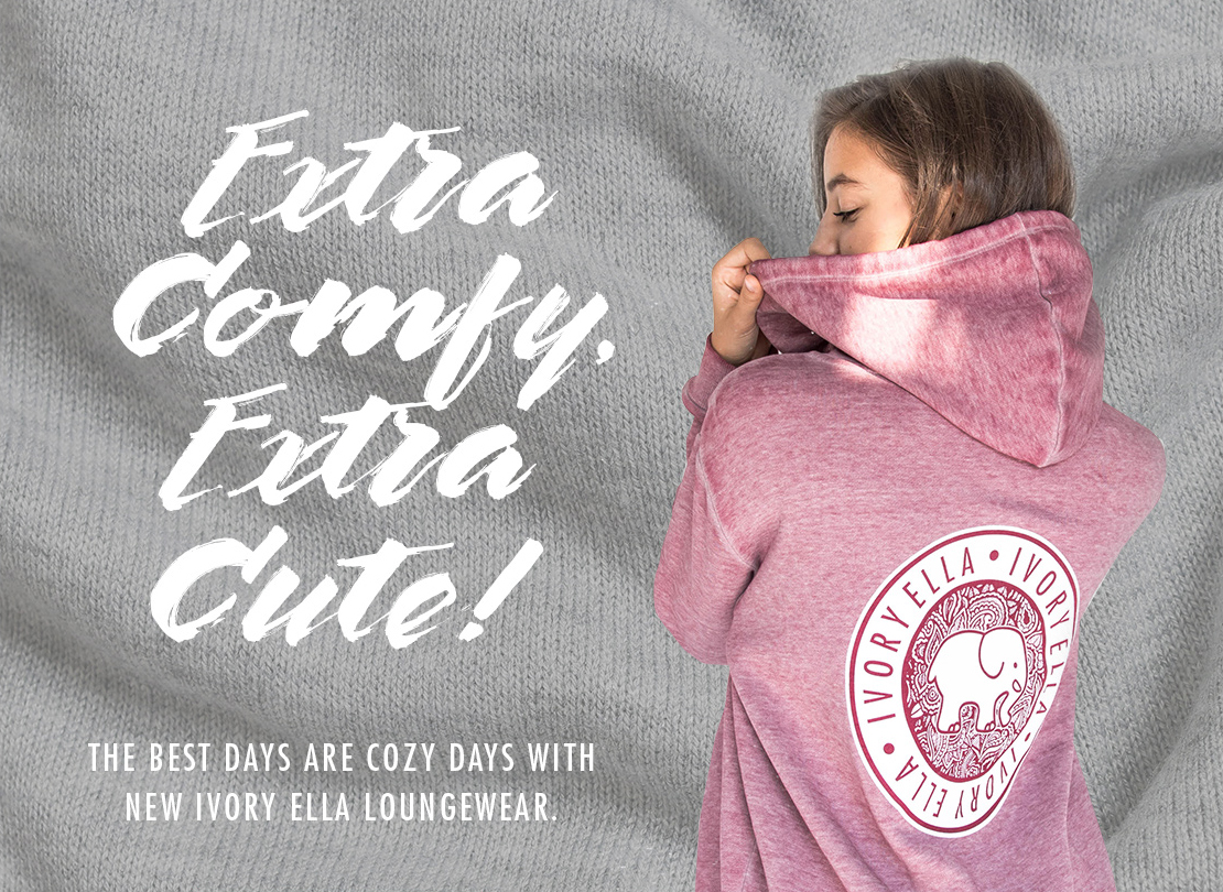 470919aee Extra Comfy Extra Cute THE BEST DAYS ARE COZY DAYS WITH NEW IVORY ELLA  LOUNGEWEAR