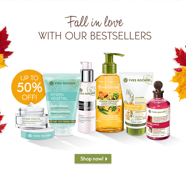 FALL IN LOVE WITH OUR BESTSELLERS