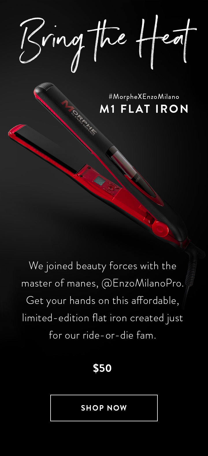 Morphe Flat Iron Up To 74 Off Free Shipping Remember to paste code when you check out. morphe flat iron up to 74 off free